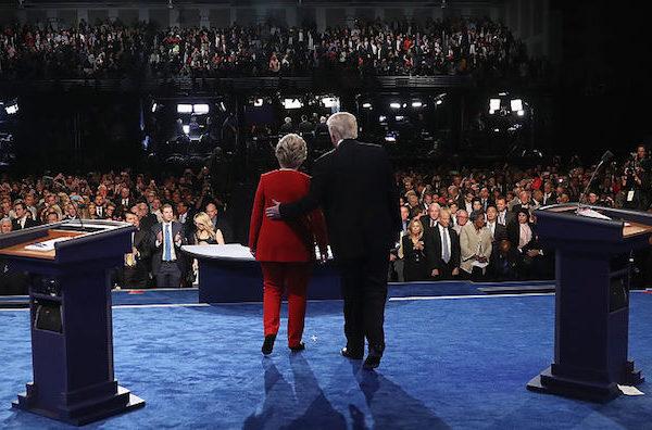 I tre dibattiti Clinton-Trump