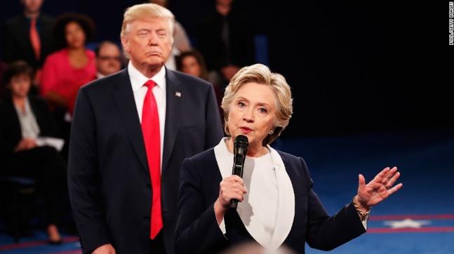 Un vero duello il secondo dibattito Trump-Clinton