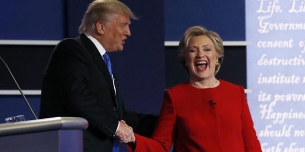 I vestiti di Hillary e le cravatte di Donald